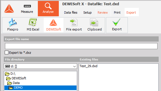 L'exportation_data_DEWESoft