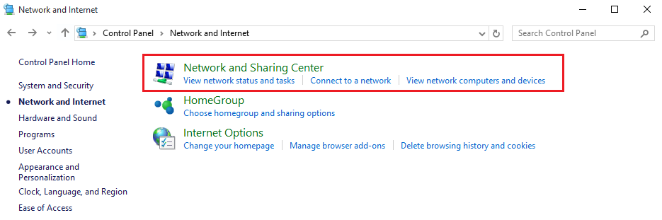 NET_Network_and_sharing_center